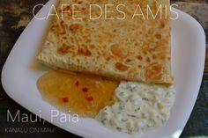 Cafe des Amis - Paia, Maui - Vegetable curry wrap/crepe - これも美味しかったー♡母ちゃんのお気に入りのレストラン・カフェデアミの記事アップしましたで。#maui #paia #cafedesamis #currywrap #crepe #マウイ #パイア #マウイレストラン #クレープ #カレーラップ