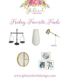 Friday Favorite Finds  Woohoo! Its Friyay! I absolutely love Fridays. They seem to be quite a bit less stressful work-wise and who doesnt look forward to the weekend? I work every day on Etsy orders but I still love the weekends because that means Jacob is home for 2 days and I get to see him for more than 4-5 hours a day!  I also love Fridays because I love featuring some of my favorite finds of the week. Whether its a new product something old that Ive just discovered (which happens all of…