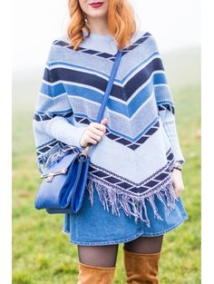 Jewel Neck Color Block Zig Zag Long Sleeve Sweater #womensfashion #pinterestfashion #buy #fun#fashion