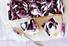 Gâteau au #fromage glacé aux #bleuets #gateau