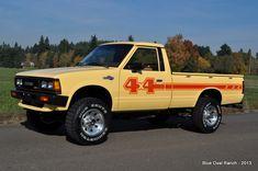1983 Nissan 720 4x4 Pickup Car Trucks Compact Mini