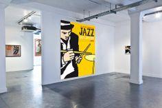 Cartel del festival de Jazz de San Javier diseñado por Grafyco