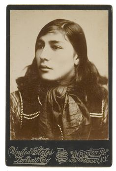 mountain man cabinet card | Cabinet Card of Scout John Nelsons Half-breed Son, James, - Cowans ...