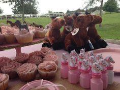 "Photo 8 of 27: Shabby Chic pony party / Birthday ""Rylee Ann's 2nd birthday "" | Catch My Party"