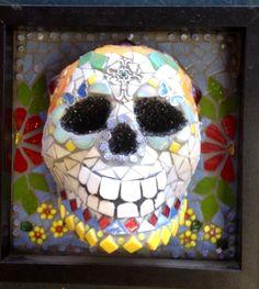 Mosaic Day of the Dead by Clark-Camargo ©newstoneagemosaics2013