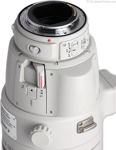 Canon EF 200-400mm f/4L IS USM Ext 1.4x Lens Close Up