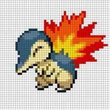Resultado de imagen de perler bead patterns pokemon eevee