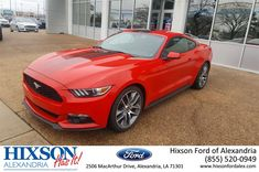 A fire engine red, candy apple red, Fire Fire red MUSTANG. What else needs to be said. Come out and drive it for yourself.  https://deliverymaxx.com/DealerReviews.aspx?DealerCode=UDRJ  #2016Mustang #BoldRed #SportsCar #Natchitoches #HixsonFordofAlexandria