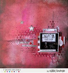 You melt my heart by Riikka Kovasin for 7 Dots Studio
