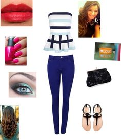 """Eleanor Calder with louis"" by daredevil-2110 ❤ liked on Polyvore"