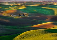 Green Hills Palouse by Nate Kay