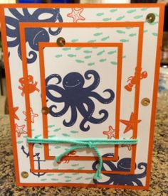 Sea Street, Stampin' Up!, triple time