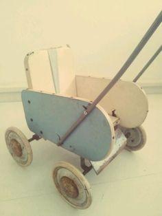 Jaren 40 - kinderwagen