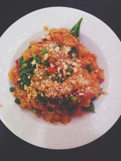 Adventures in a New(ish) City: Texas Recipes: Quinoa and Shrimp Stir Fry #Houston #Texas #Food #AdventuresInANewishCity