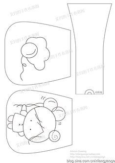 [Reserved] Phi manual - cute chick vedl balón, spojka, kresba papír (Emma výkres)