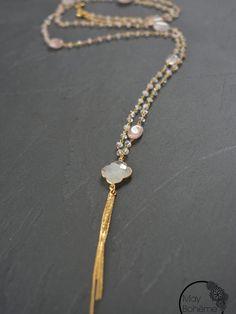 Bleu Moonstone spécial de Guérison Cristal Pierre Précieuse Coeur Pendentif Porte-clés//Key Chain