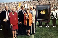 Gerald Ford's jersey was retired at #Michigan in 2006