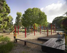 Foley Park, lebe Point Road, Glebe, Sydney, Australia, by ASPECT Studios