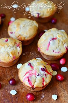 Cranberry White Choc