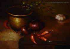 Deodanda Pretorius ~ The Science of Art: Chiaroscuro