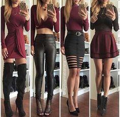 Borgoña outfits