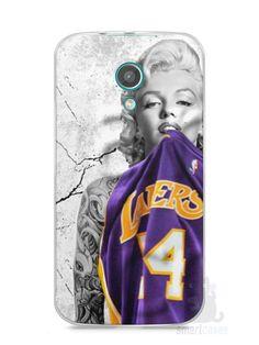 Capa Moto G2 Marilyn Monroe Lakers - SmartCases - Acessórios para celulares e tablets :)