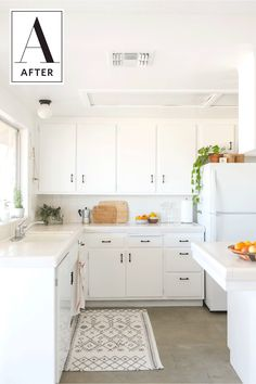 Before and After: A Vintage Kitchen in the Desert Gets a Bright Face-Lift