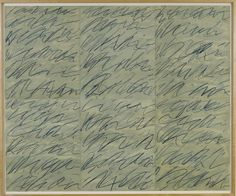 """Roman Notes by Cy Twombly  Buy """"This is not a sky"""" at http://www.blacklawrence.com/this-is-not-a-sky/"""