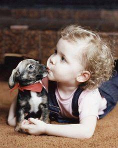 sweet puppy breath kiss