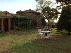 Bramasole garden in Under the Tuscan Sun