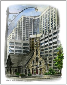 The Church of the Redeemer on Avenue and Bloor will be having #Christmas services December 24 and 25. Get their full schedule here http://www.theredeemer.ca/PDFs/AdventChristmas2015.pdf  The church is known for its progressive stance on social issues, especially gay rights. In 1998 the congregation published An Honourable Estate: Same Sex Unions and the Church advocating the blessing of same-sex unions. Integrity Toronto worships in the church.