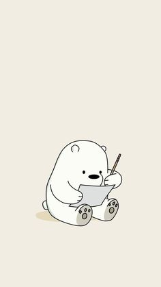 Kawaii Ice Bear Iphone We Bare Bears Wallpaper We Bare Bears Wallpapers, Panda Wallpapers, Cute Cartoon Wallpapers, Cute Wallpapers For Ipad, Iphone Wallpapers, Ice Bear We Bare Bears, We Bear, Cute Disney Wallpaper, Kawaii Wallpaper