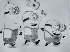 Minions Sketch Google Zoeken Drawing Ideas Minion Sketch