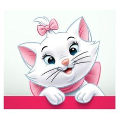 The aristocats images aristocats marie wallpaper hd wallpaper and Marie Aristocats, Art Disney, Disney Kunst, Cute Animal Drawings, Cute Drawings, Marie Cat, Gata Marie, Disney Babys, Wallpaper Gallery