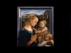 Fra Filippo Lippi, Madonna and Child with two Angels, c. tempera on panel, 95 x cm (Galleria degli Uffizi, Florence) Ap Art History 250, History Images, Mystery Of History, Italian Renaissance Art, Fourth World, Examples Of Art, Colonial America, Madonna And Child, Famous Artists