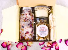Sip & Soak Relaxation Gift Box