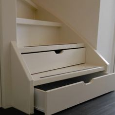 Loft Staircase, Staircase Design, Stair Stickers, Under Stairs, Kitchen Living, Stairways, Home Projects, Interior Inspiration, Filing Cabinet