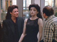 The Elaine manequin - Seinfeld Seinfeld Elaine, Jerry Seinfeld, Seinfeld Episodes, Elaine Benes, Laugh Track, King Of Queens, Larry David, Episode Guide, Music Tv