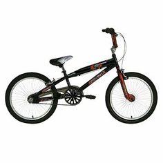 """Razor Boy's Aggressor 20"" BMX Bike - Black/Red"""