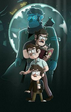 Stanford Pines, young, childhood, different ages, time lapse; Gravity Falls