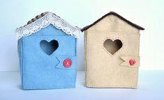 Craft Gossip - http://sewing.craftgossip.com/free-pattern-tiny-felt-houses/2015/04/12/