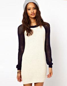 ASOS Varsity Sweater Dress Cute and Comfy!!!
