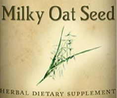 MILKY OAT SEED All Natural Herbal Tincture for a Healthy Nervous System in times of Stress