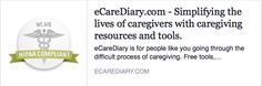 #Senior #Care Providers, eCareDiary helps your clients: -Manage appointments and medications -Stay up-to-date with their loved one's care from a long distance -Store legal documents -Access expert content on #eldercare and #caregiving www.ecarediary.com