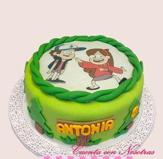 Torta Gravity Falls Gravity Falls Cake