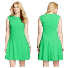"LAUREN Spring '16 Dress NWTPerfect for work, brunch, or just about any Spring fling Made from smooth crepe, this figure-flattering A-line dress has tons of styling options! Pair it with heels and your favorite jewelry for a day-to-night look. Concealed back zipper. Fully lined.  Length, about 37"" from shoulders to hemBrand new! Lauren Ralph Lauren Dresses"