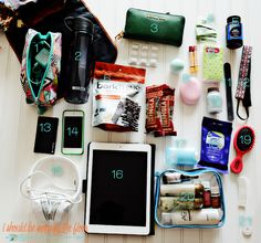 What I Pack Inside My Carry-On Bag   Making air travel a breeze by not checking on any bags. Having a wheelie bag full of your clothing and a backpack full of essentials is the key.