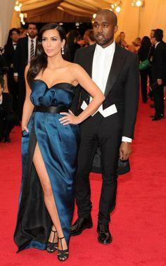 Kim Kardashian y Kanye West - Gala del MET 2014