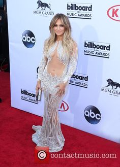 Jennifer Lopez left little to the imagination at the 2015 billboard music awards wearing this Charbel Zoe dress