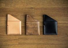 Colville Leather's simple, stylish Card Holder #handmade #devon #leather #cardholder #style #wallet #leatherwallet #leather #colvilleleather